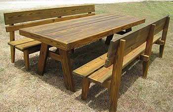 17 Best Images About Picnic Tables On Pinterest Home
