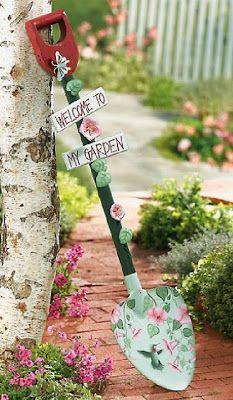 Shabby Chic Interiors: I Love Garden