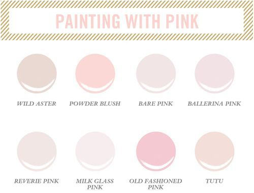 17 best images about pink love love love on pinterest for Benjamin moore pristine