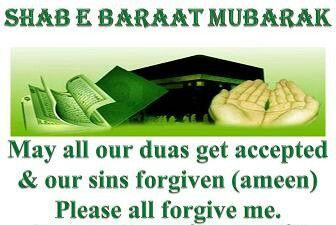 Shab e Baraat Mubarak to u all
