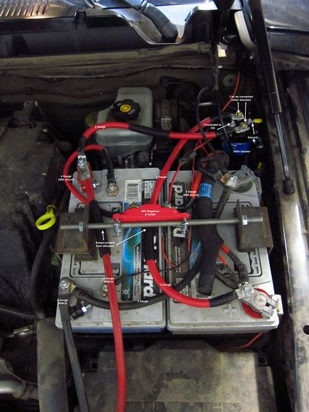 How To Make A Cheap Isolated Dualbattery Setup For 50 Page 10. How To Make A Cheap Isolated Dualbattery Setup For 50 Page 10 Expedition Portal Jeep Wj Pinterest Dual Battery And Trucks. Chevrolet. Chevy Truck Dual Battery Wiring At Scoala.co