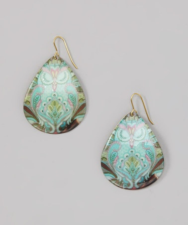 Take a look at this Mint & Purple Owl Earrings by ZAD ONLY $7.99--PLEASE USE MY CODE!  http://www.zulily.com/invite/dboltz932