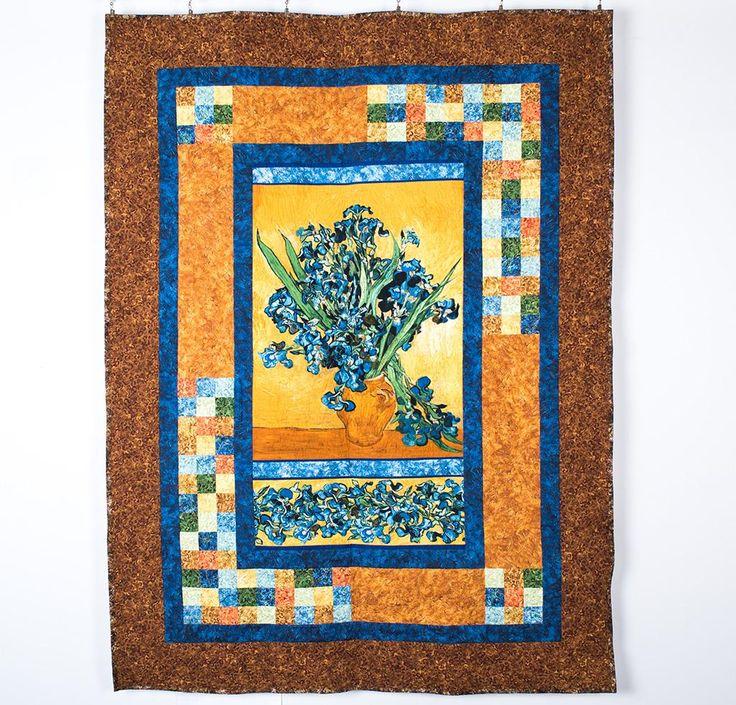 Robert Kaufman Spotlight Quilt Kit Vincent Van Gogh