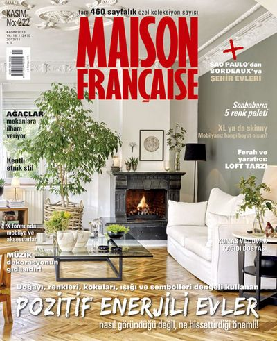 Maison Francaise November 2013 cover page