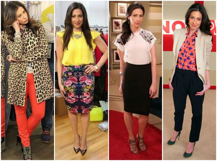 stacy london's wardrobe | Images of Stacy in this post via TLC / Individual outfits pinned here. Lovin this Leopard Jacket!!!