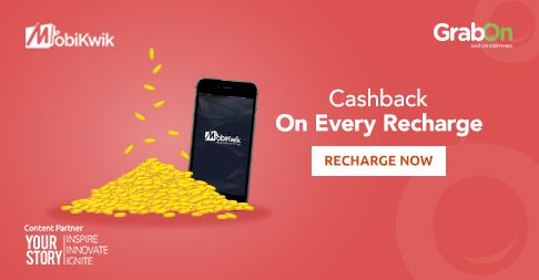 You know what is the best thing about cashback? Everything! Contest powered by Mobikwik; in association with YourStory at www.grabon.in ‪#‎GrabOnToMobikwik‬