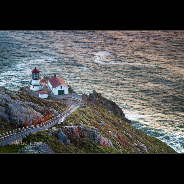 the Old Lighthouse at Point Reyes - CA by Dominique Palombieri, via Flickr