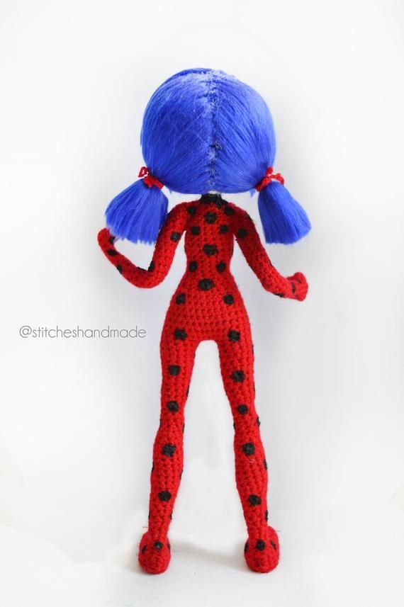 Ladybug Amigurumi Patron Pdf Etsy Muñeca Ladybug Muñecos De Ganchillo Mariquitas