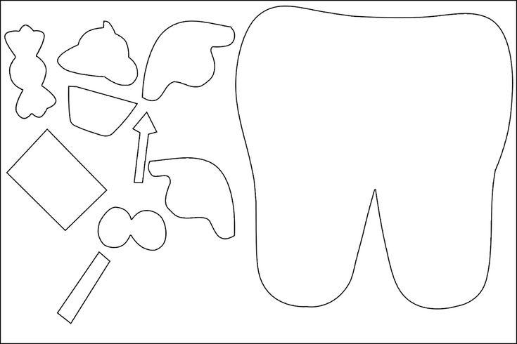 dente feltro molde - Pesquisa Google