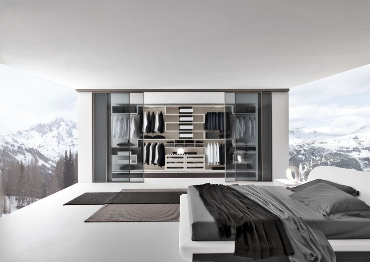 Contemporary Style Walk In Wardrobe VARIUS By Presotto Industrie Mobili