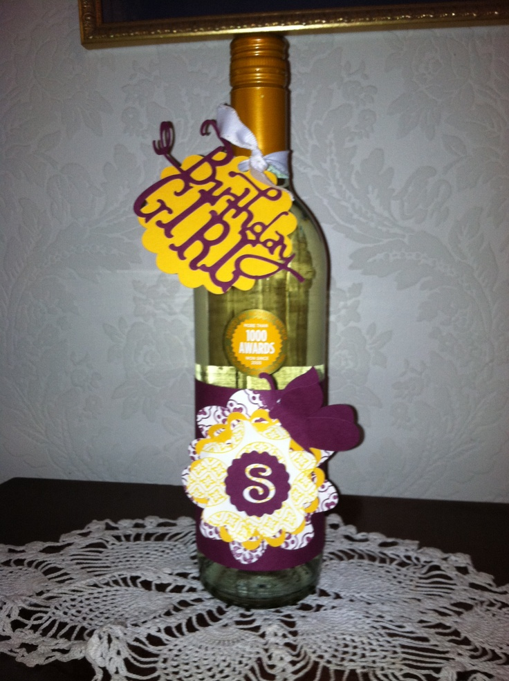 17 best images about decorate your empty bottles on for How to decorate a wine bottle for a gift