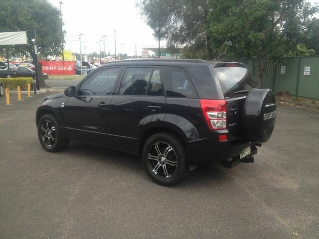 2006 Suzuki Grand Vitara Black Automatic Wagon