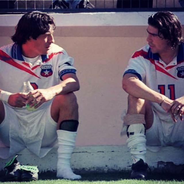 Ivan Zamorano et Marcelo Salas #Chili #Legend