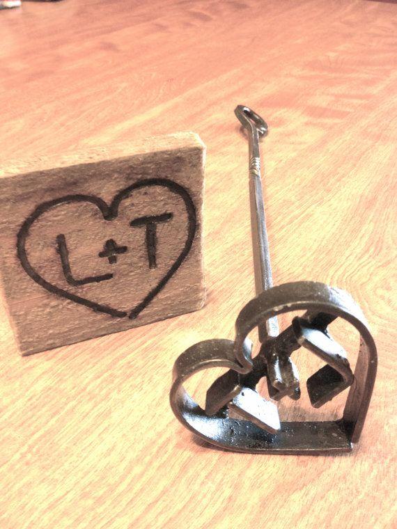 Great Custom Brands for a Wedding Branding Branding Iron Custom Wedding Heart and by ReedsBlacksmithShop