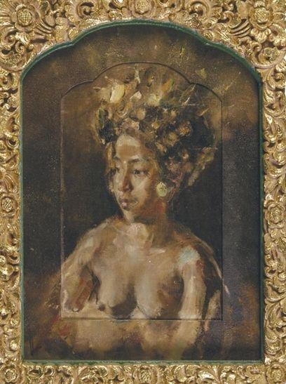 Antonio Blanco - Portret Penari Bali