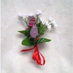 Zipper Rose Corsage Craft