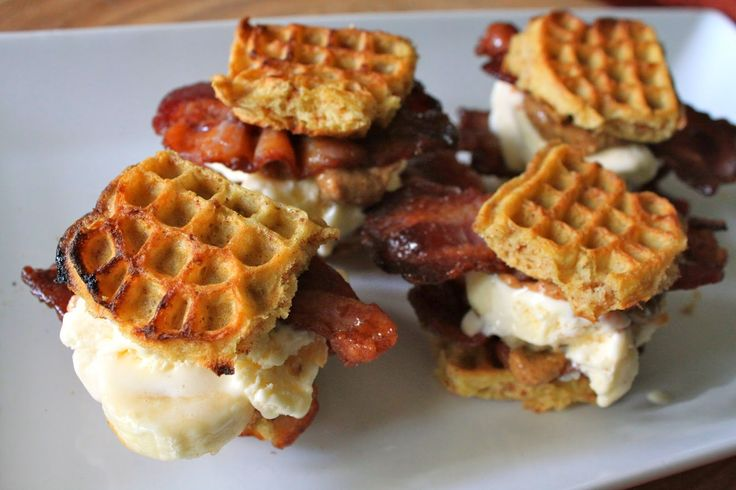 Incredible Elvis Ice Cream Sandwich Waffles (with Candied ...