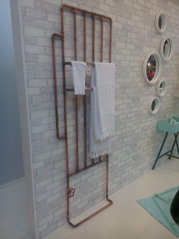 101 woonideeen: stoer industrieel handdoek radiator