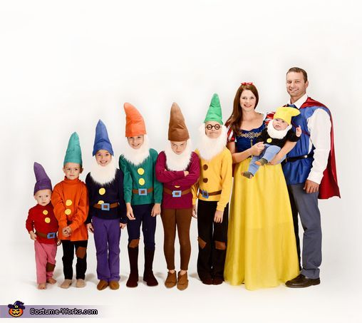 Snow White and the Seven Dwarfs - 2013 Group Halloween Costume Contest via @Costume Works