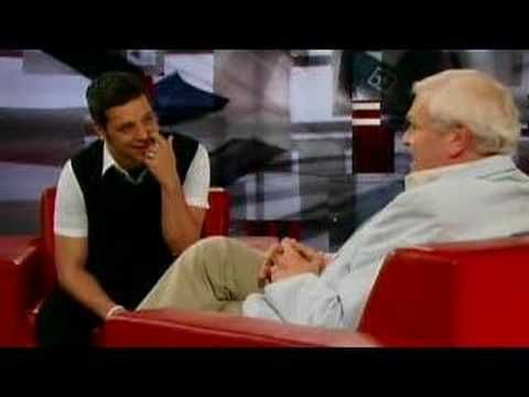 Brian Dennehy on The Hour with George Stroumboulopoulos  (George Stroumboulopoulos is an outstanding interviewer ... it is a fantastic CBC TV show)