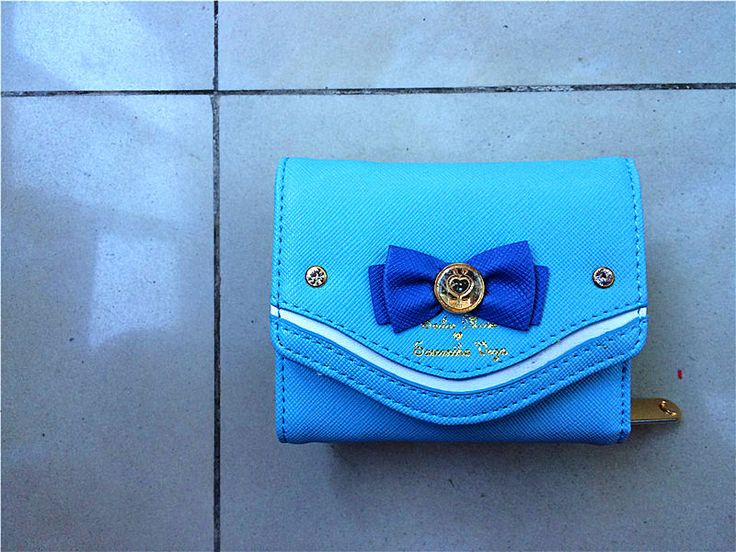2015 Samantha Vega Sailor Moon Women Purse Bow Designer Purse Short Handbags Bag Ladies Wallet Leather for Girls 5279