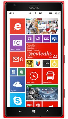 Nokia Lumia 1520 press images leaked - Mobile Doctors.co
