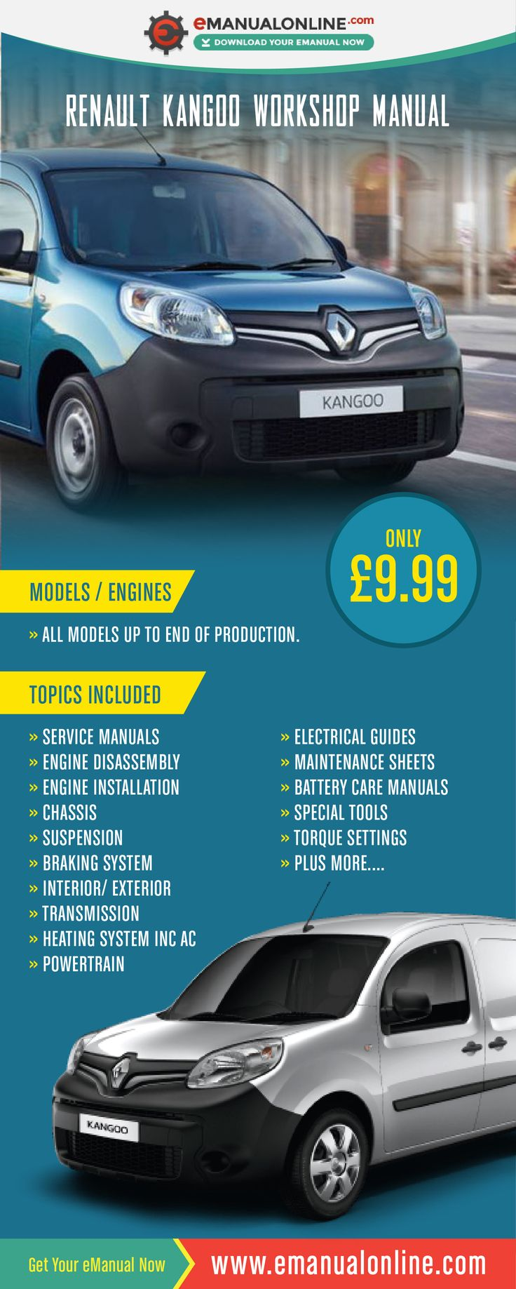 The 35 best top 35 cars manual images on pinterest business renault kangoo workshop manual this workshop manual contains literally thousands of problem diagnosis and repair fandeluxe Images