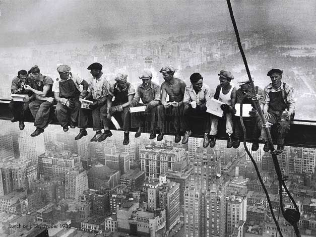 Charles Ebbets' classic