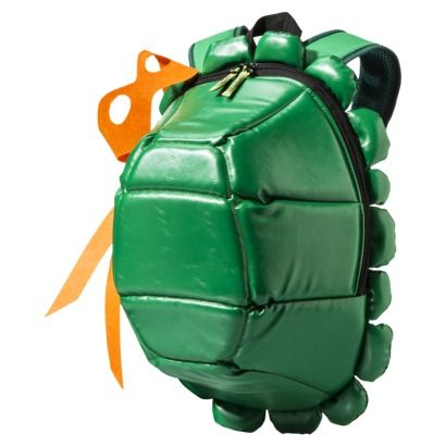 Teenage Mutant Ninja Turtle Backpack with Colored Masks - Green