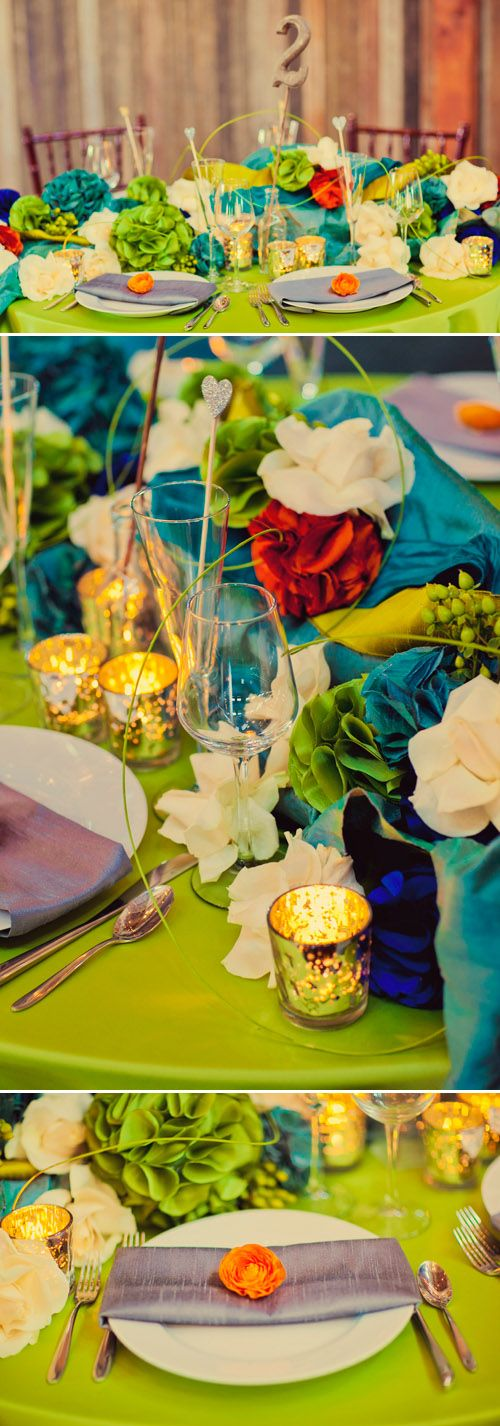 so much color!: Wedding Color, Color Combos, Beautiful Colors, Color Combinations, Colorful Weddings, Bright Colors