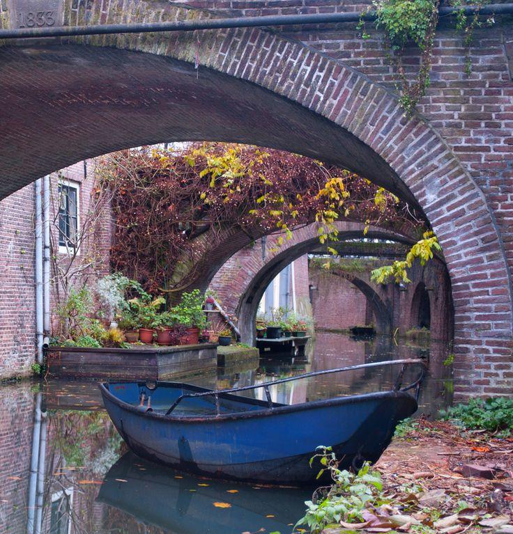 Utrecht canal the Netherlands