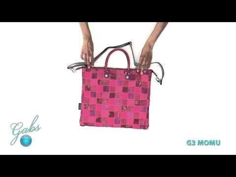 Gabs G3 Momu– De tassen van het Italiaanse merk Gabs zijn multifunctioneel. Bekijk hoe je van 1 tas, verschillende modellen kunt maken. #multifunctioneel #gabs #handbag #bag #video