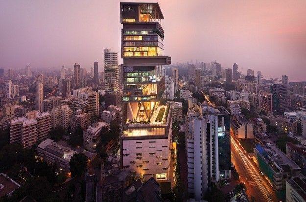 La casa più bella del mondo è quella di Mukesh Ambani [FOTO]