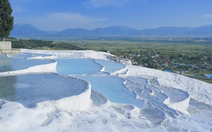 Pamukkale, Turkey  A remarkable UNESCO world heritage site in southwest turkey. 20 Serious Weird Places | Rough Guides