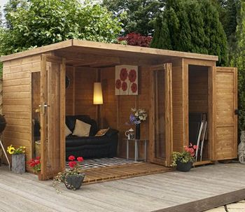 16 best images about summerhouse finish on pinterest house tours sheds and luxury log cabins - Sheds for small spaces property ...