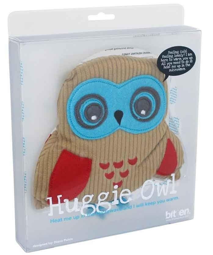 Bitten - Huggie Owl Microwave Heat Pack