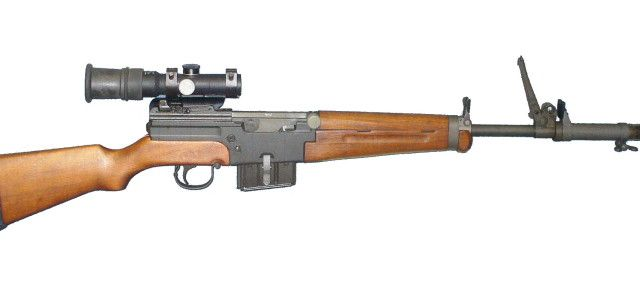 French armed forces' experiences in Indochina showed glaring need for new,domestically-made rifle.Fighting Vietminh forces armed with auto-loading SKS rifles or submachine guns,French troops-armed with motley collection of weapons ranging from bolt-action MAS 36 to American-supplied M1 carbines & Garands-often found themselves outgunned.Small number of French troops,however,armed with MAS Mle.49,dependable & accurate self-loading rifle.