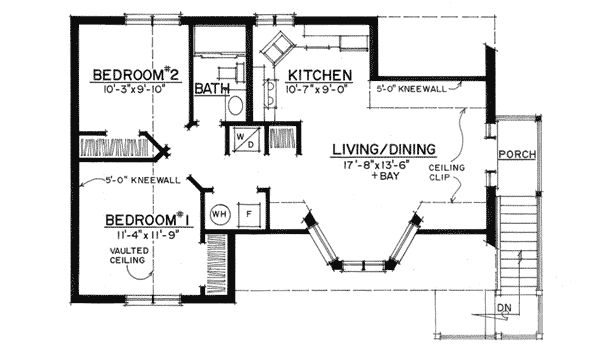 Plan 43053pf Rustic Carriage House Plan 2nd Floor