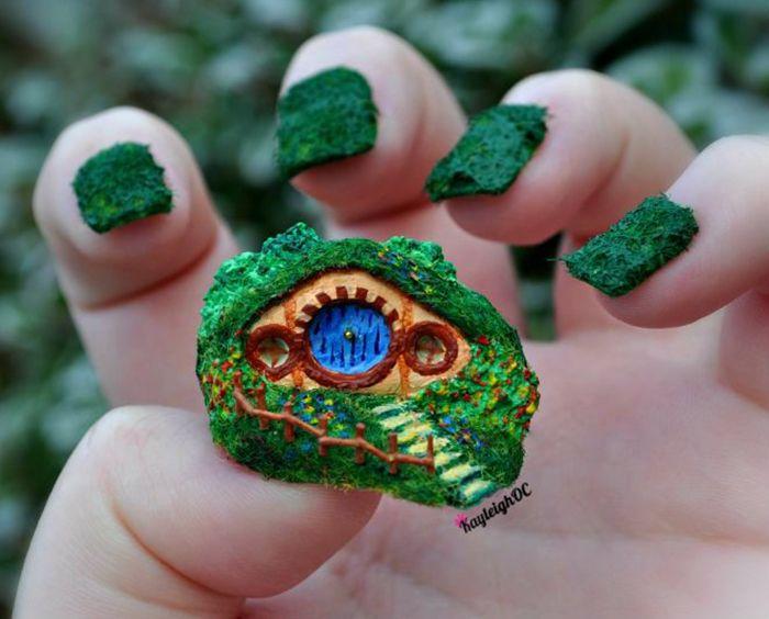 35 mejores imágenes de Middle Earth Nail Art en Pinterest   Tierra ...