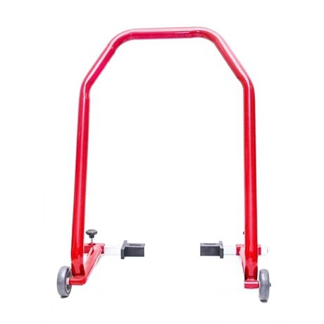 Cavalete traseiro universal para motos até 300Cc - Combat Vermelho.
