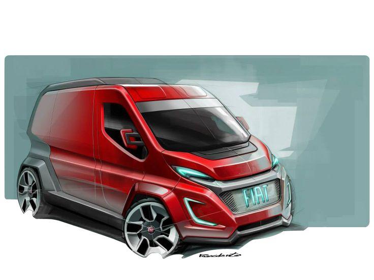 New Fiat Ducato sketch