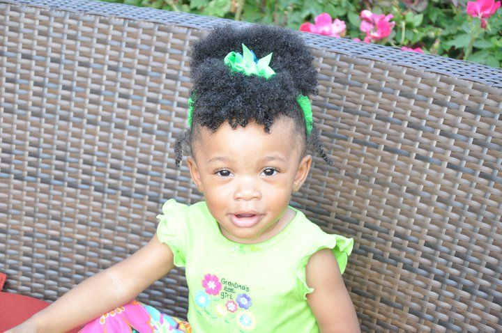 Natural Toddler Updo Black Women Natural Hairstyles