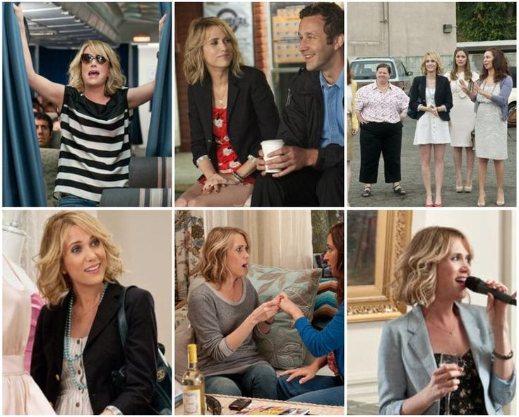 <3 Kristen Wiig and her style in Bridesmaids. Funniest movie ever.
