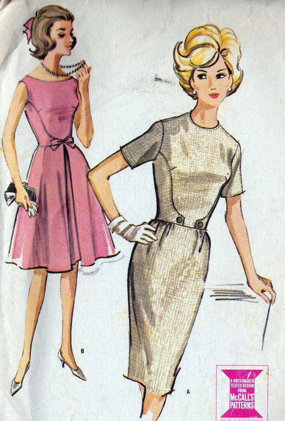 1960s Misses Dress