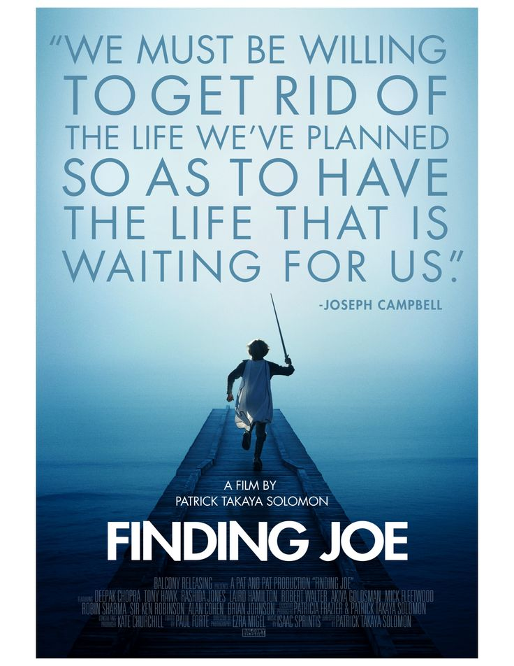 Trailer posters and press documents available here for pat solomons movie about joseph campbell and the heros journey finding joe