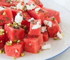 Refreshing Citron Watermelon Salad #krystasdishes #epicure