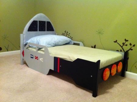 Toddler Rocket Bed Kids Bedroom Tutorials Pinterest