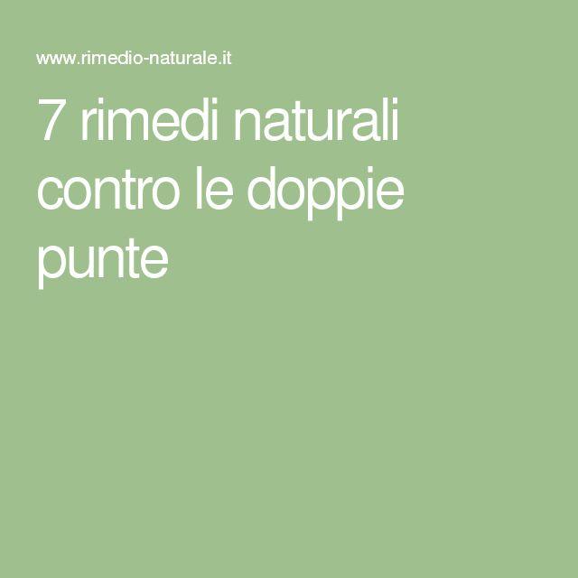 7 rimedi naturali contro le doppie punte