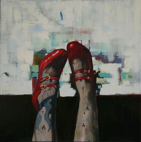 13._Put_on_your_red_shoes_and_(oil_60x60_cm)