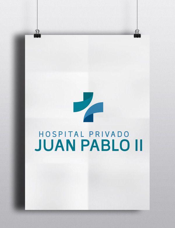 Logo Hospital Juan Pablo II on Behance